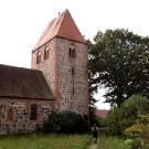 Die Kirche von Groß Leppin.
