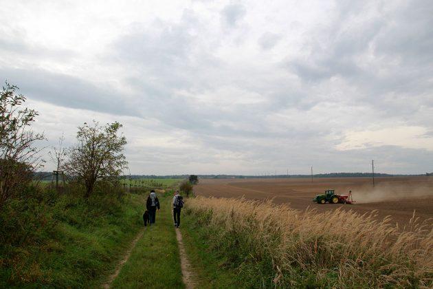 Landwirtschaft und Wanderschaft verträgt sich prima