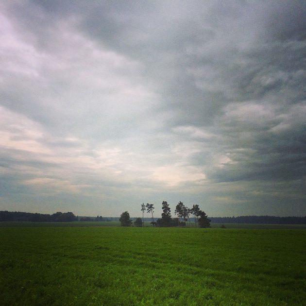 Immer wieder überrascht uns der Hohe Fläming mit tollen Landschaften