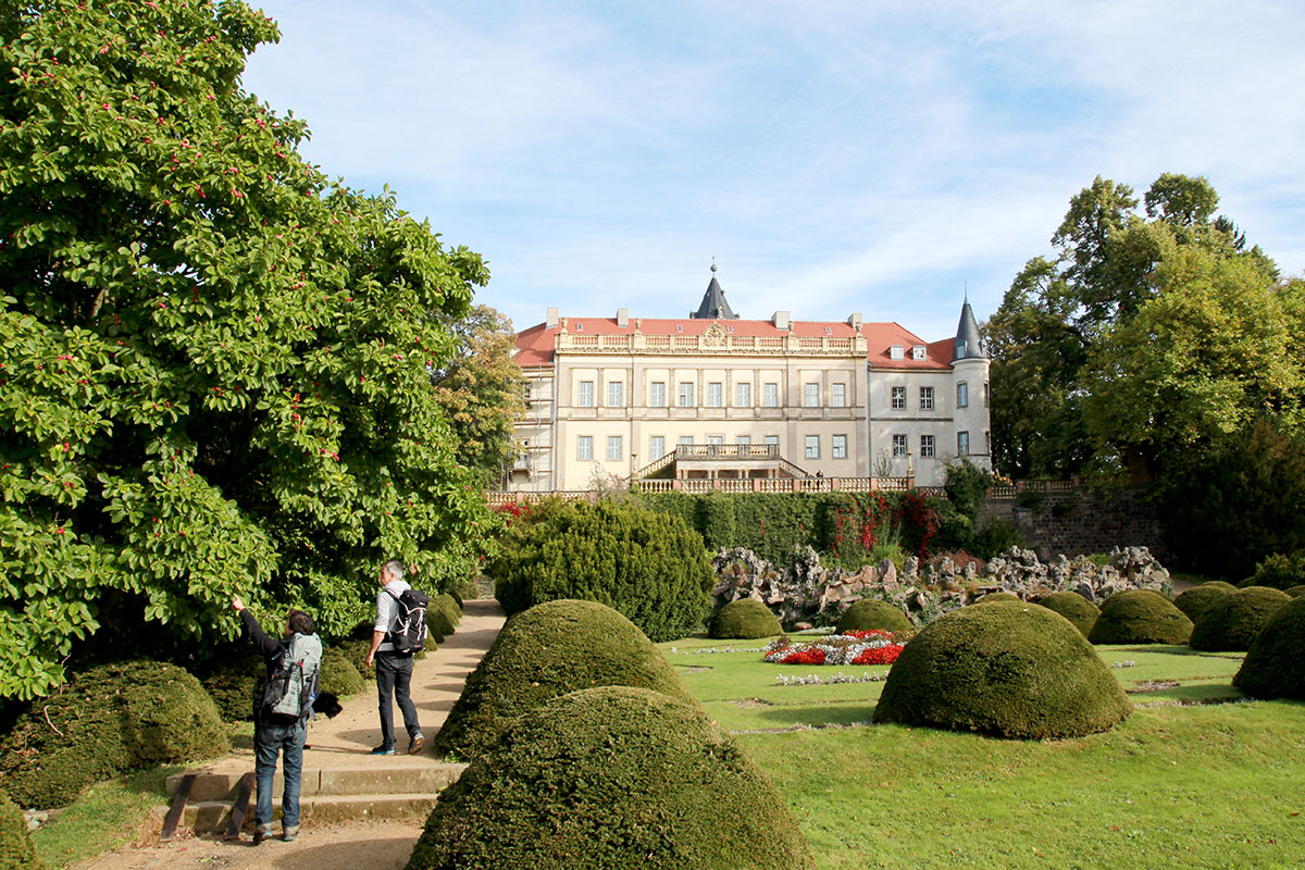 Schloss Wiesenburg, die dritte Burg auf dem Burgenwanderweg im Hohen Fläming