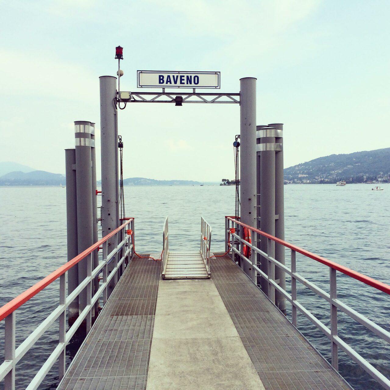 Hafenmole Bavenos: Anfang und Ende einer Reise?