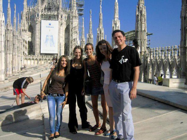 Ausflug mit der Klasse in Mailand
