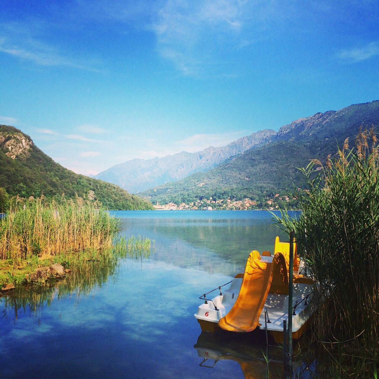 Badestelle am Lago Mergozzo