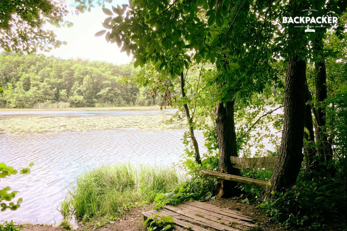 Auch der Strehlsee bietet idyllische Plätze