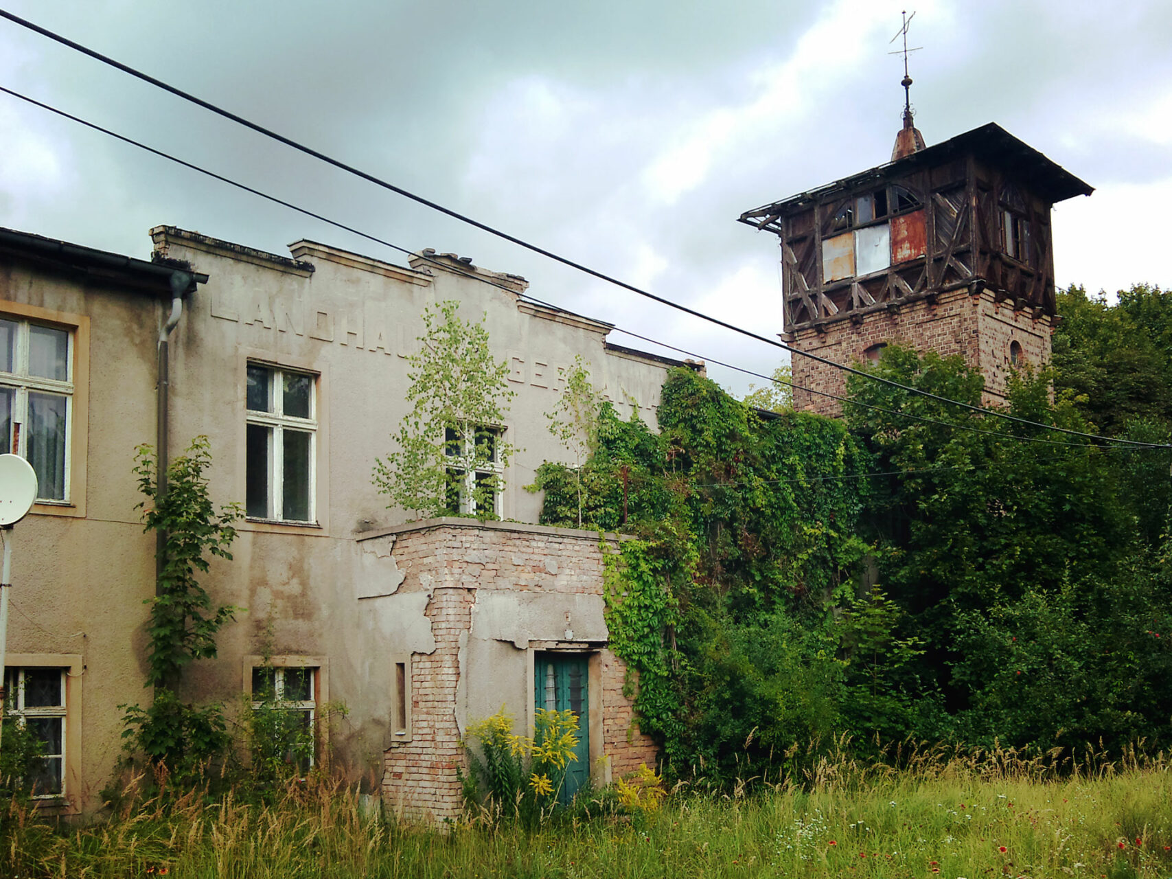 Vergessene Geschichte: Das Landhaus Germania in Finowfurt.