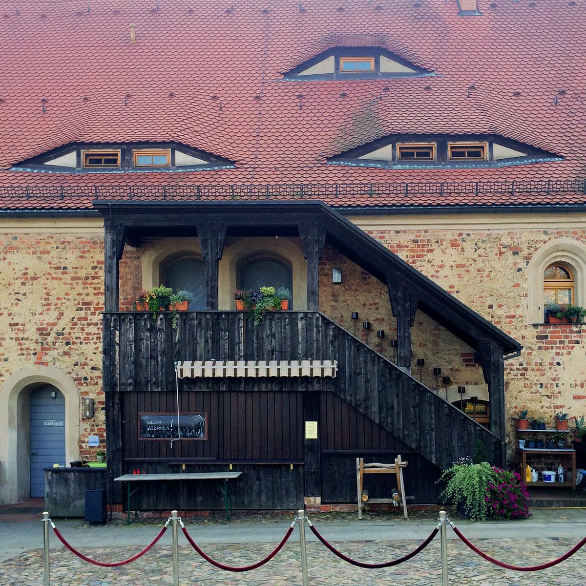 Das alte Salzlager beherbergt heute Restaurant und Hotel