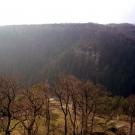 Blick von der Burg Hohnstein