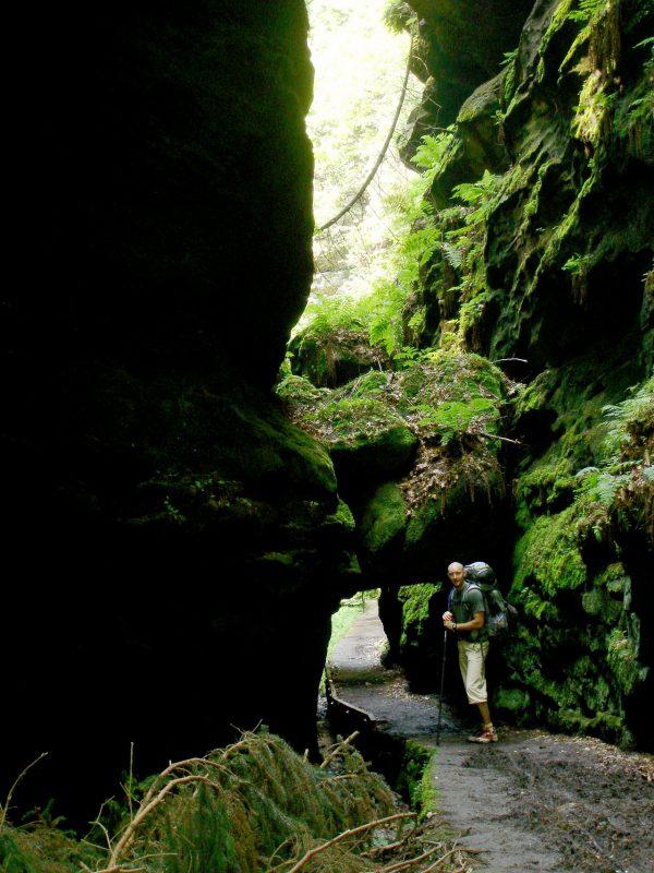 Das Felsentor im Uttewalder Grund