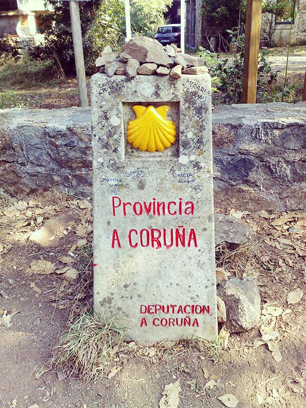 Und schon sind wir in der Provinz A Coruna, in welcher auch Santiago de Compostela liegt.