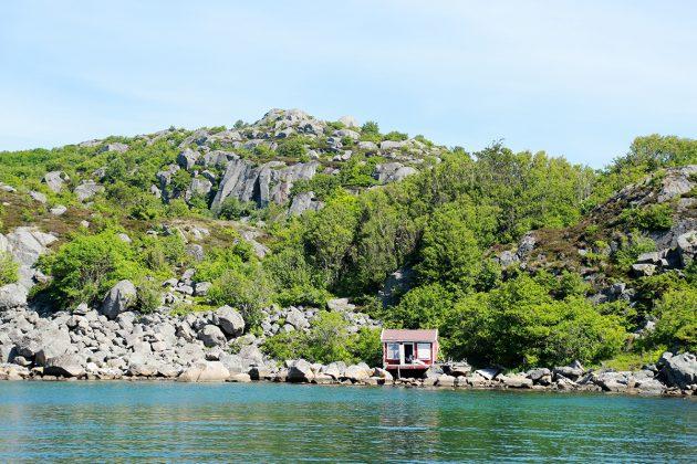 Abhängen und Chillen am Gronsfjord