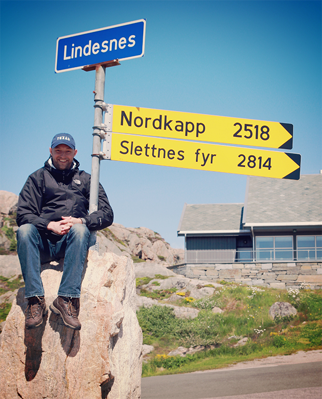 Entlang des Gronsfjord's bis zum Kap Lindesnes