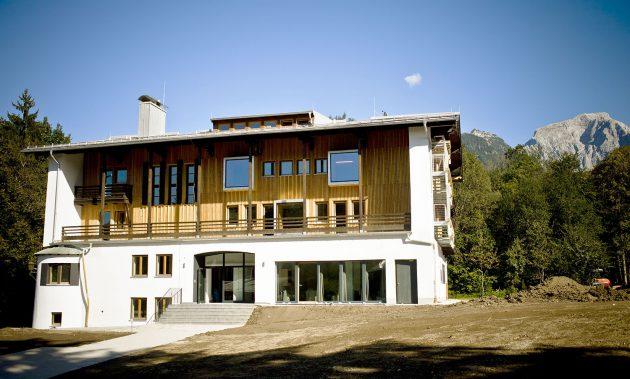 Mit einem Fuß in den Alpen: Bergrausch.