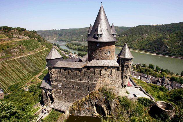 Schloss-Romantik: Burg Stahleck.