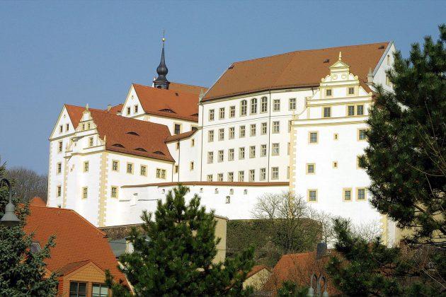 Gespensterjagd im ehemaligen Gefangenenlager: Schloss Colditz.