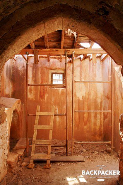 Im Innern bot die Kapelle wohl nur wenigen Menschen Platz, ist aber noch original erhalten.