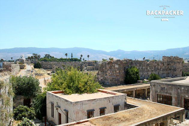 Das Kastell von Kos, mit seinen fast 900 Jahren zwar Ruine aber immer noch sehr beeindruckend.