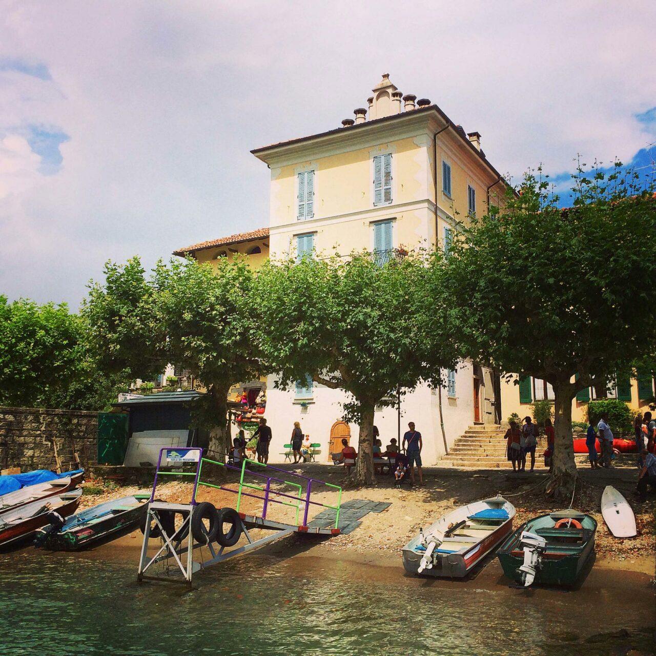Sag beim Abschied leise Servus: Isola dei Pescatori im Lago Maggiore