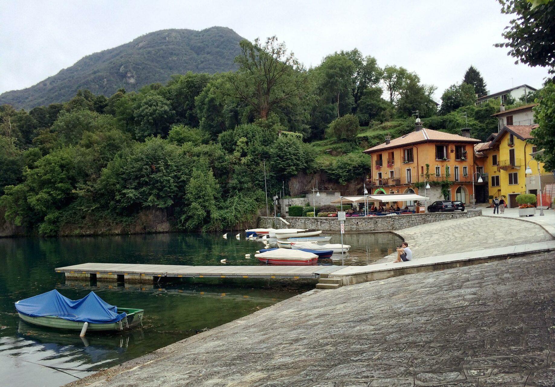 Den leckersten Kaffee mit Blick auf den Lago Mergozzo trinke ich in diesem Restaurant. Empfehlung.