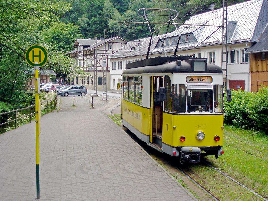 Die Kirnitzschtal-Bahn