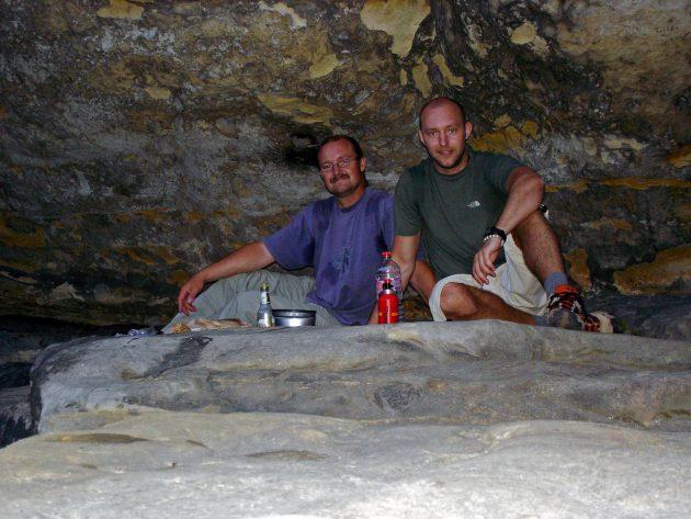 In der Ida-Grotte