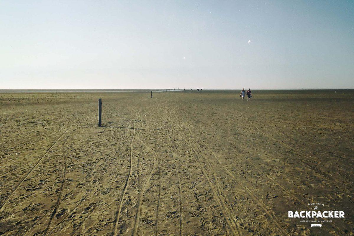 Auch zwei Kilometer später liegt das Meer noch in weiter Ferne.