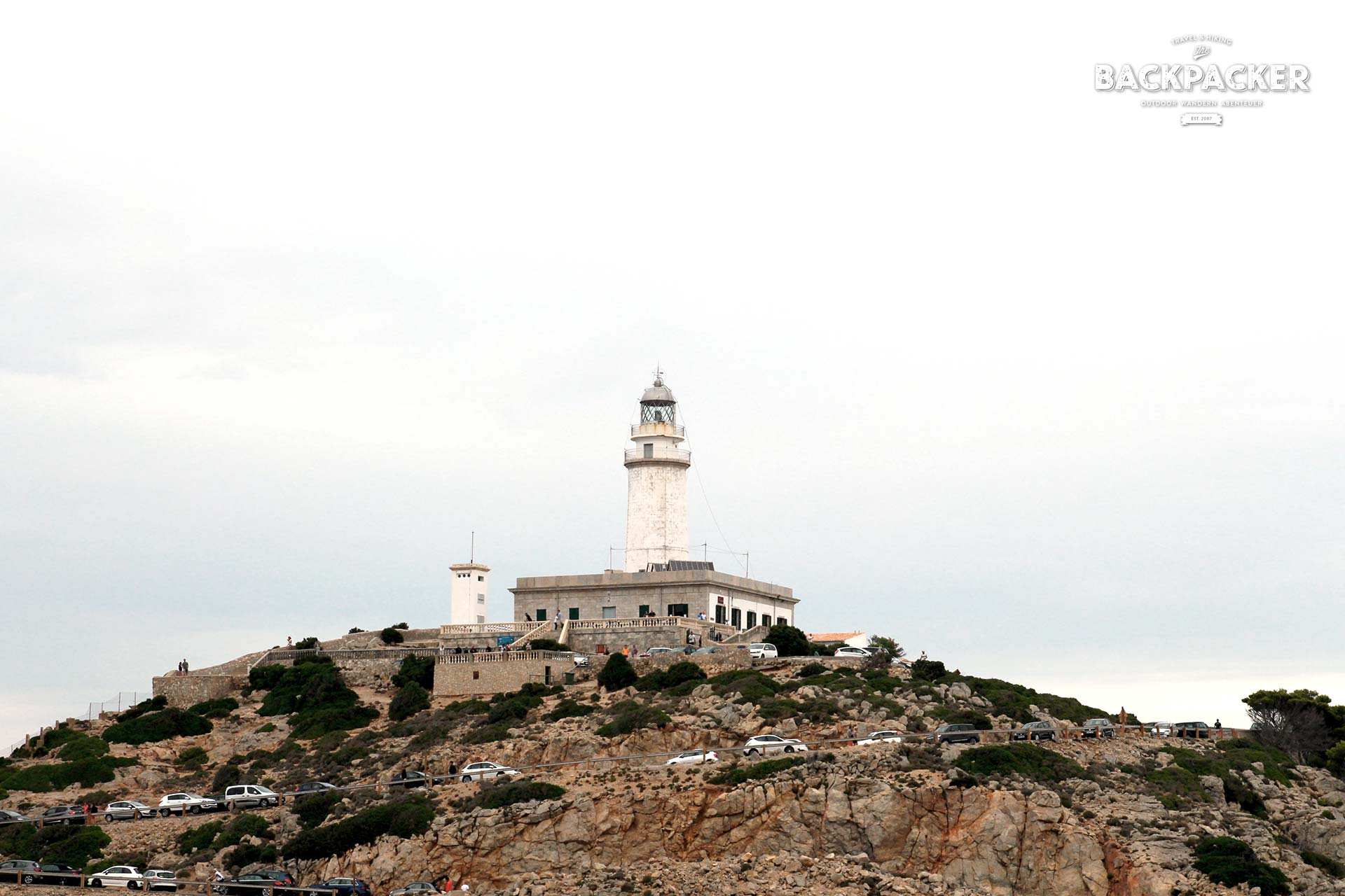 Der Leuchtturm am Cap Formentor, dem nördlichsten Zipfel Mallorcas