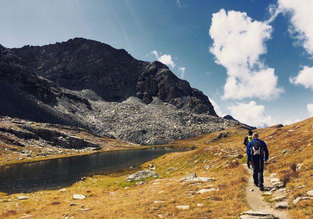 Am Colle Pinter in 2.776 Metern Höhe lässt es sich vortrefflich chillen. Und wandern.