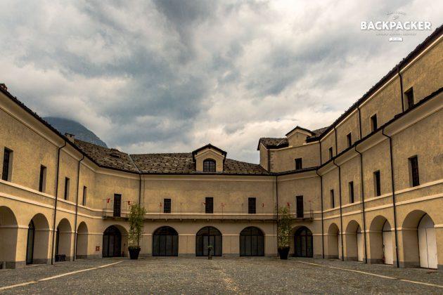 Der Pallas der Festung – mächtig gewaltig
