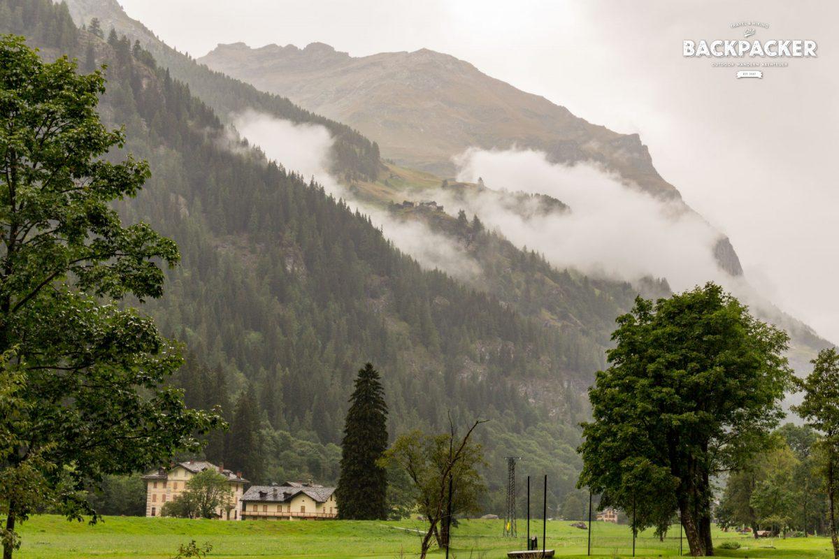 Das Refugio Alpenzu auf knapp 1.700 Höhenmetern gelegen ist mein nächstes Ziel.