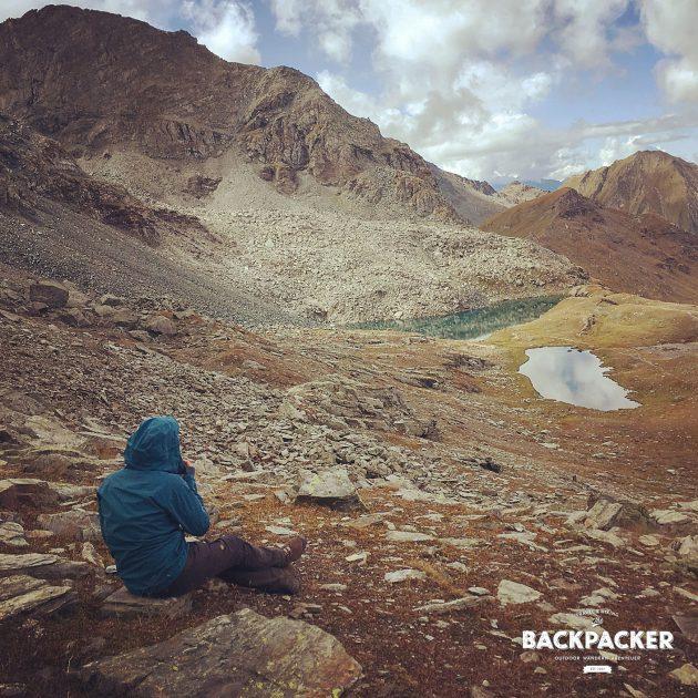 Entspannen und Rasten am Colle Pinter auf 2.776m