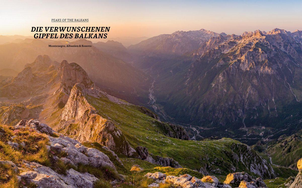 Die verwunschenen Gipfel des Balkans // © Foto von Jack Brauer, Fernweh, Gestalten 2018