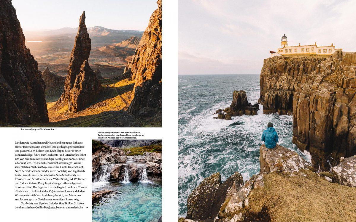 Skye Trail in Schottland // © Fotos von Sarah Green & Ryan Sheppeck, Fernweh, Gestalten 2018