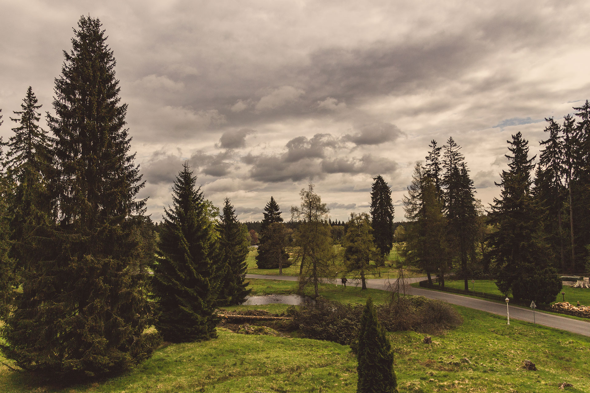 Das Hochmoor von Kladska ist Startpunkt meines letzten Tages durch den Kaiserwald