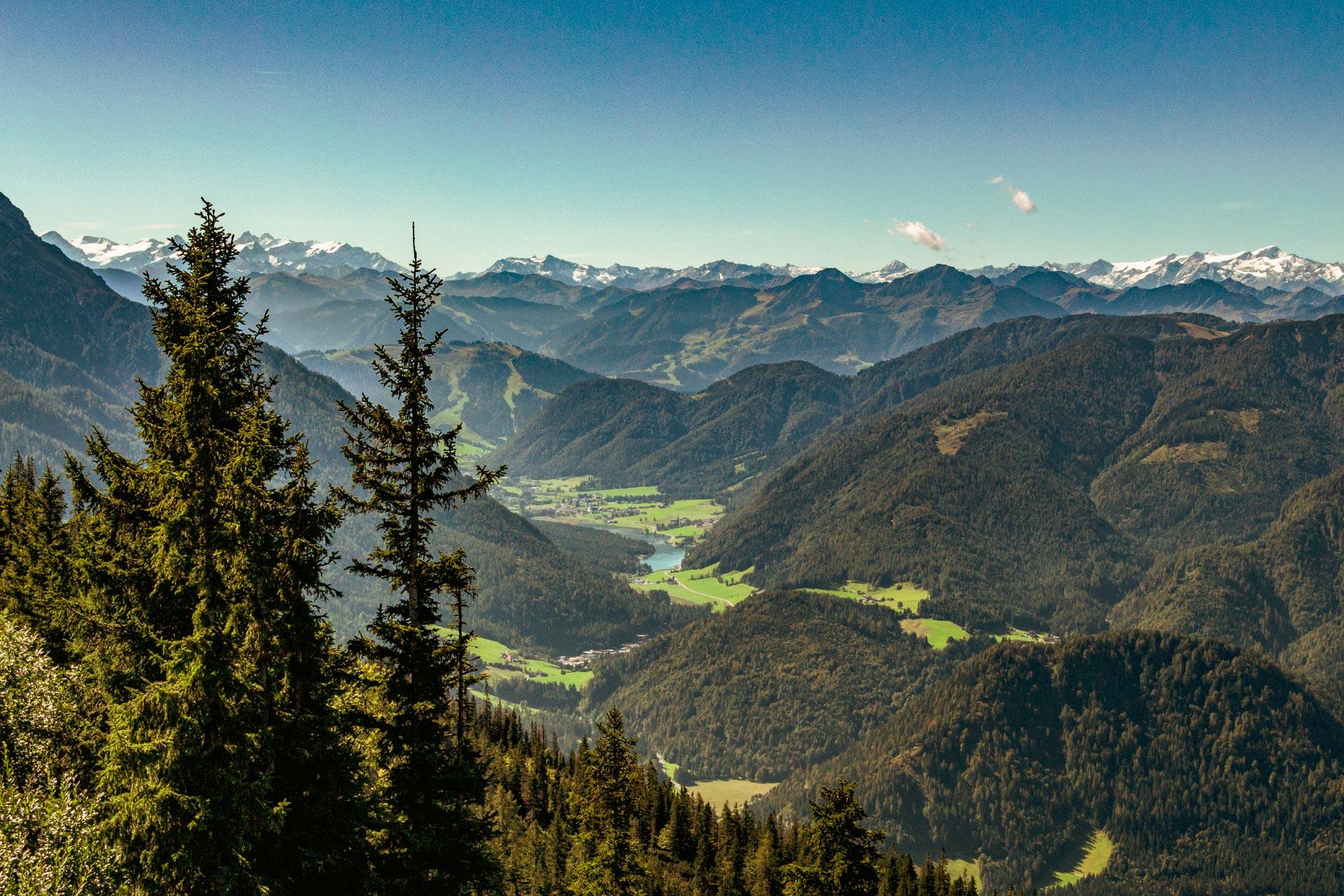 Langsam heißt es Abschied nehmen vom schönen Pillerseetal in den Kitzbüheler Alpen
