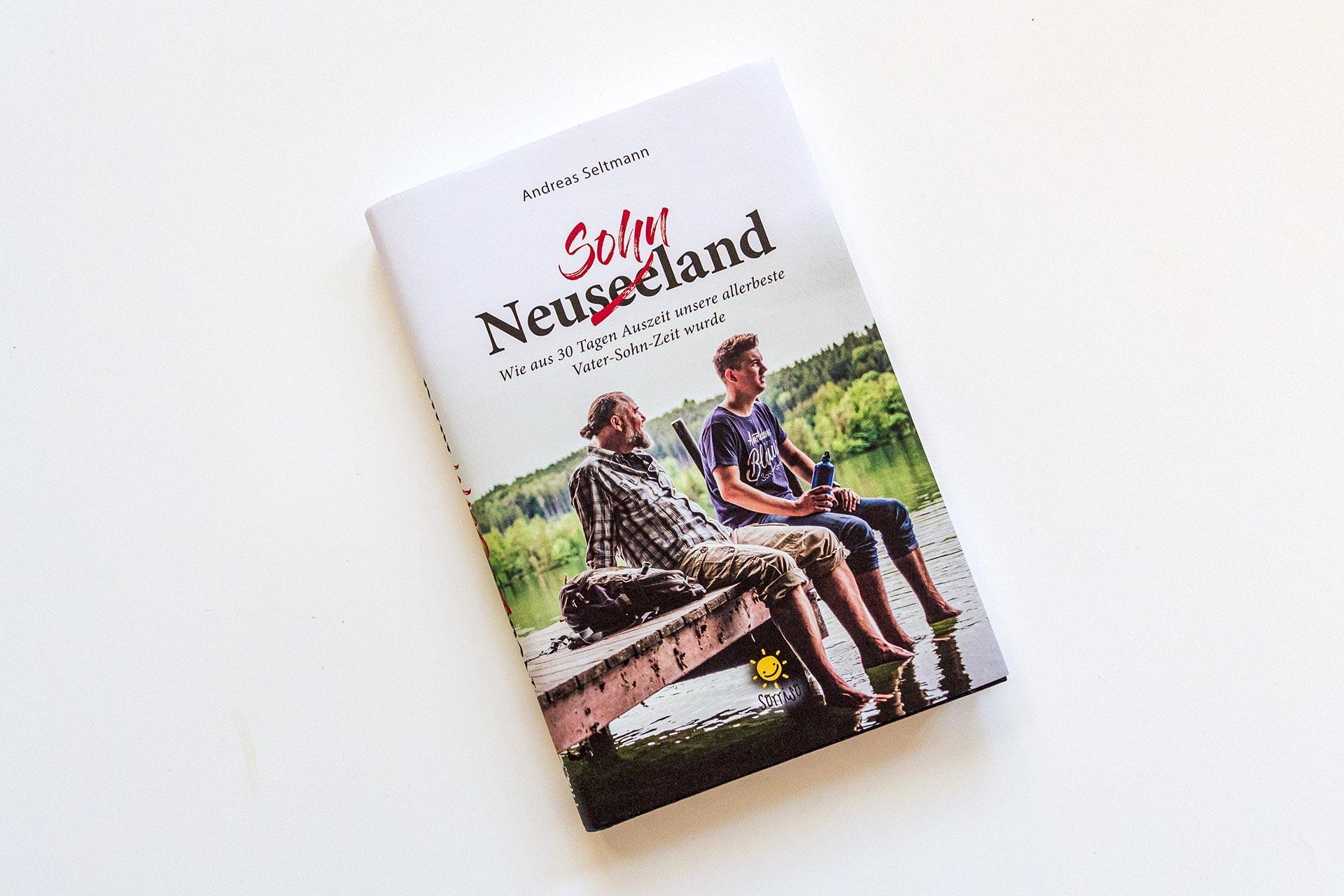 "Cover des Buches ""NeuseeSOHNLand"" von Andreas Seltmann"