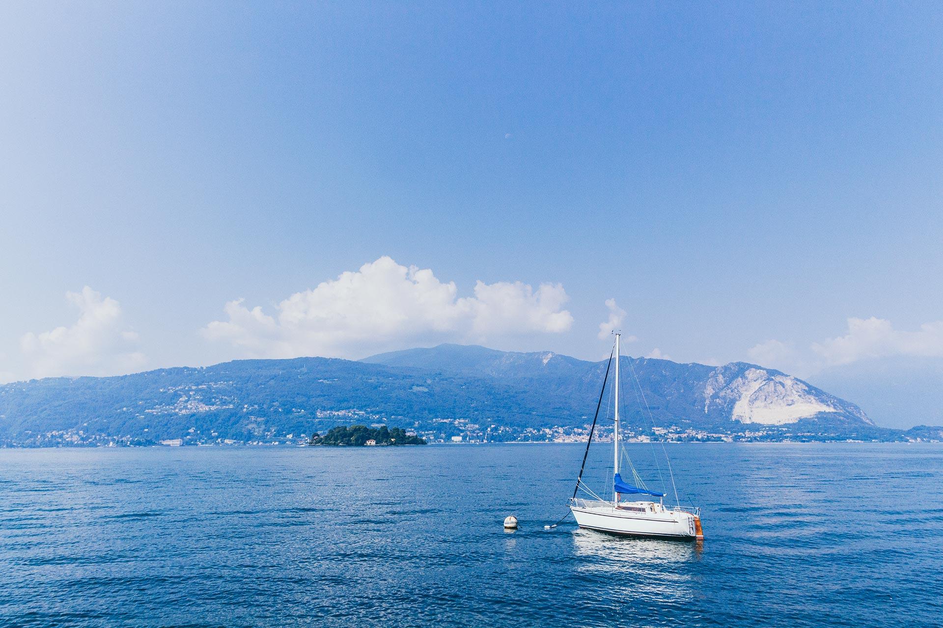 Da hinauf soll es gehen – hoch in die Bergwelt des Lago Maggiore oberhalb Bavenos