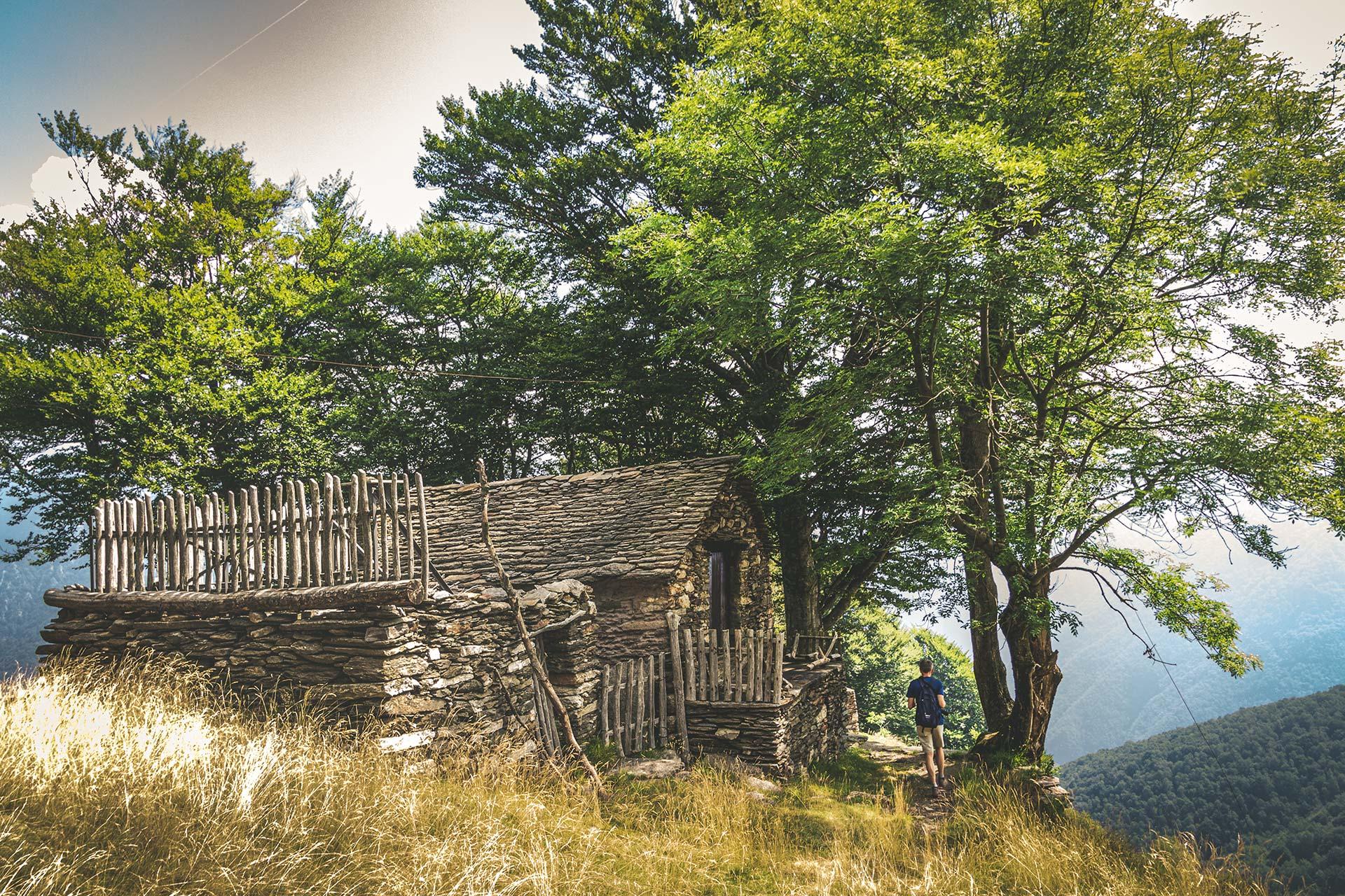 Die spärlichen Überreste an der Alpe Casarecce halten Überraschungen bereit