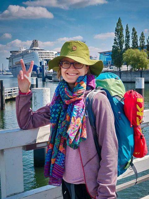 Große Vorfreude: Abfahrt in Kiel © Stefanie Jarantowski, 2019