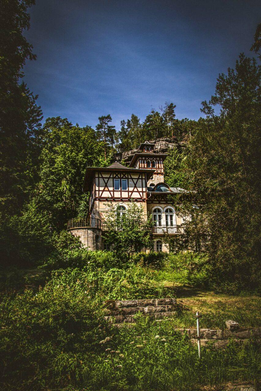 Villa im Bielatal