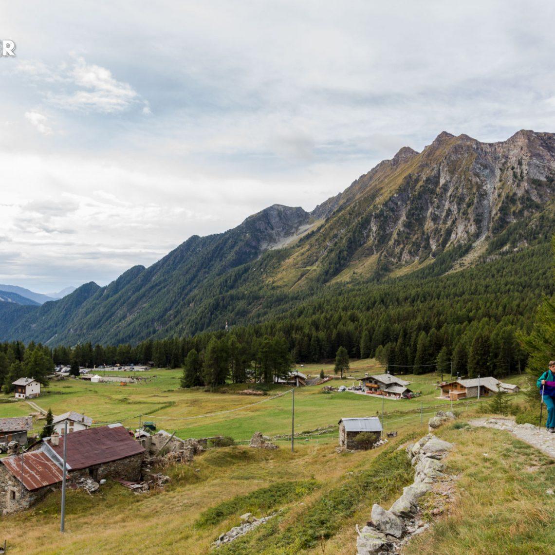 Das Ayastal, ein Seitental des Aostatals, lädt zum vergnüglichen Wandern auf bis zu 2.000 Höhenmetern.
