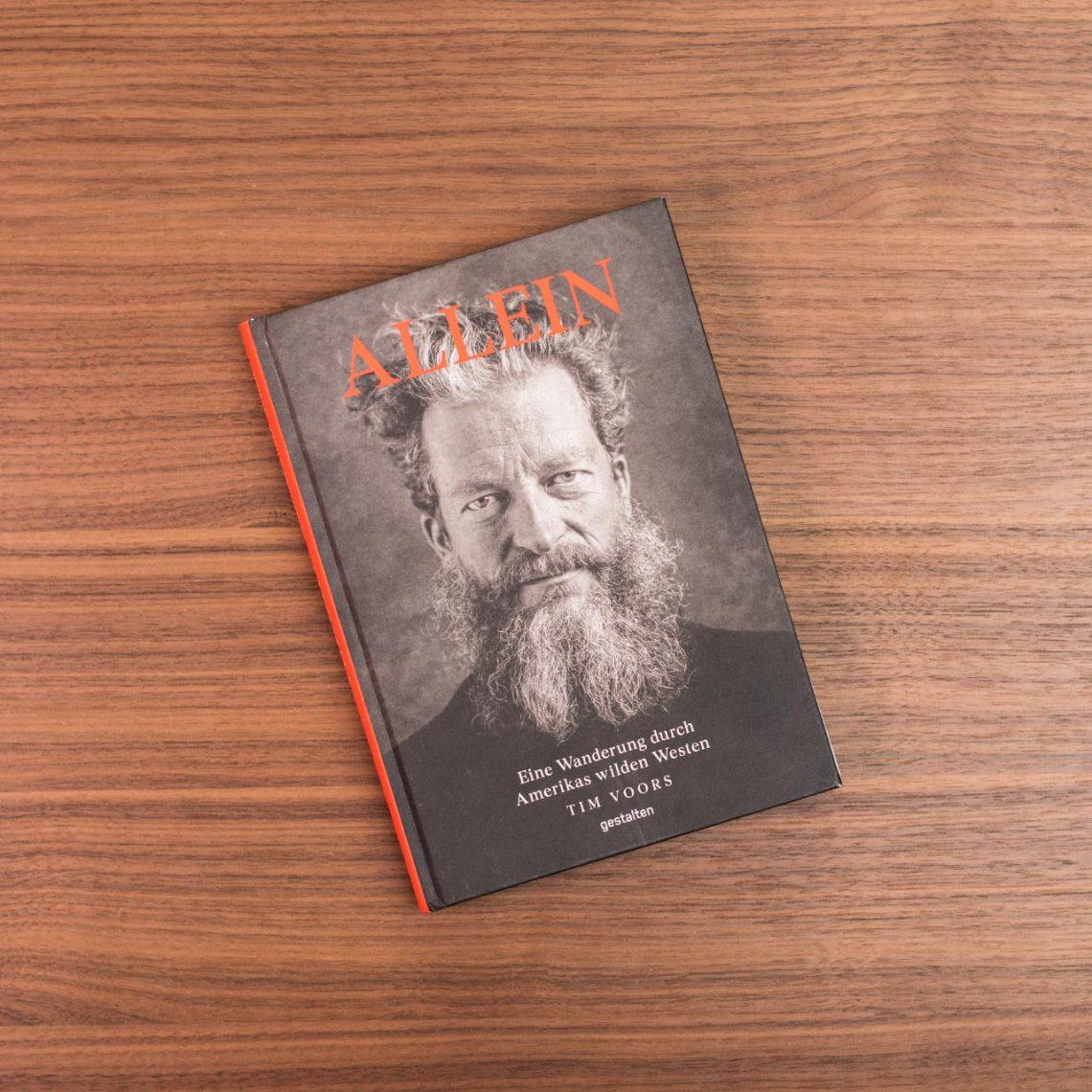 """Cover des Buchs """"Allein"""", erschienen im Gestalten Verlag, @gestalten"""