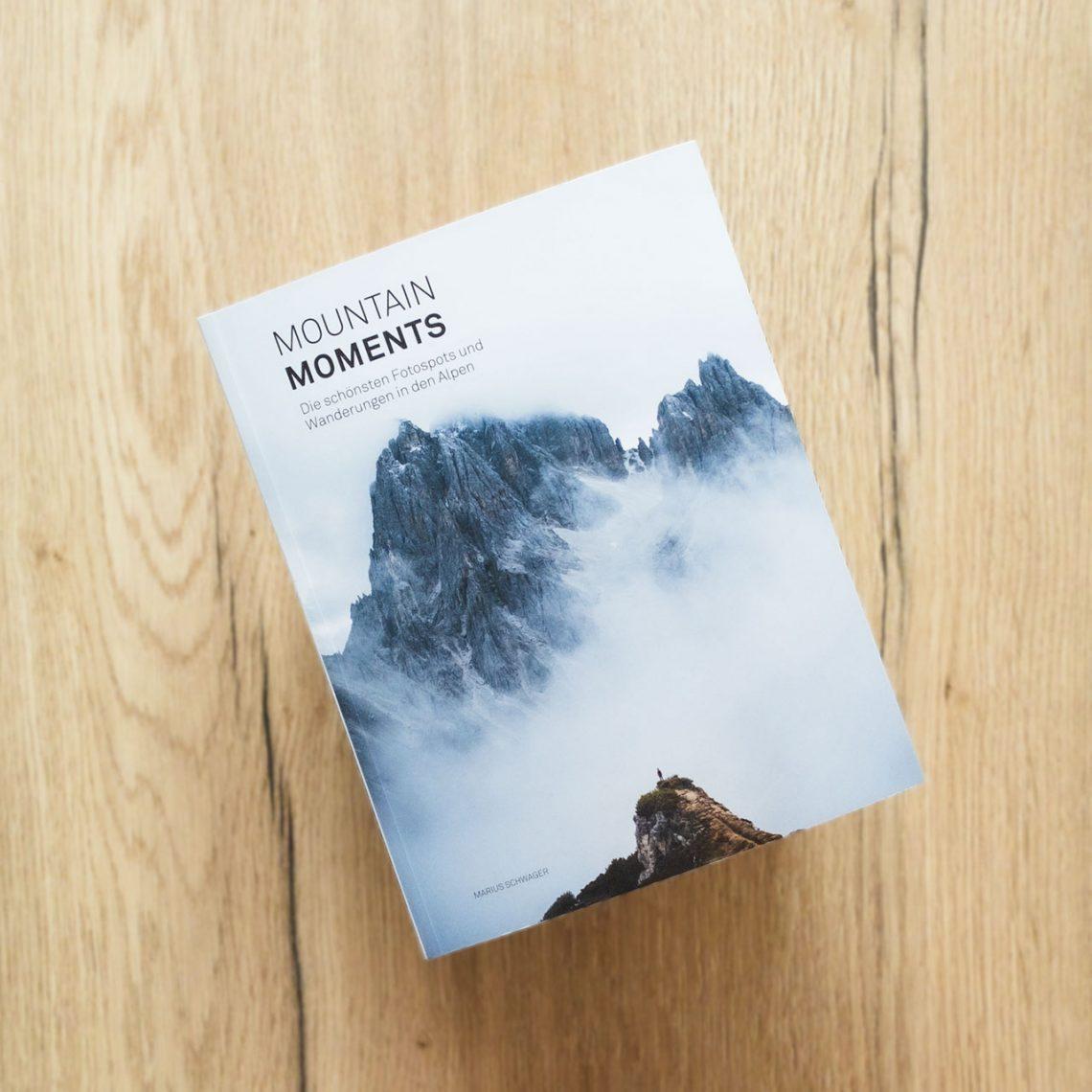 Mountain Moments von Marius Schwager, Einband © Eigenverlag, 2020