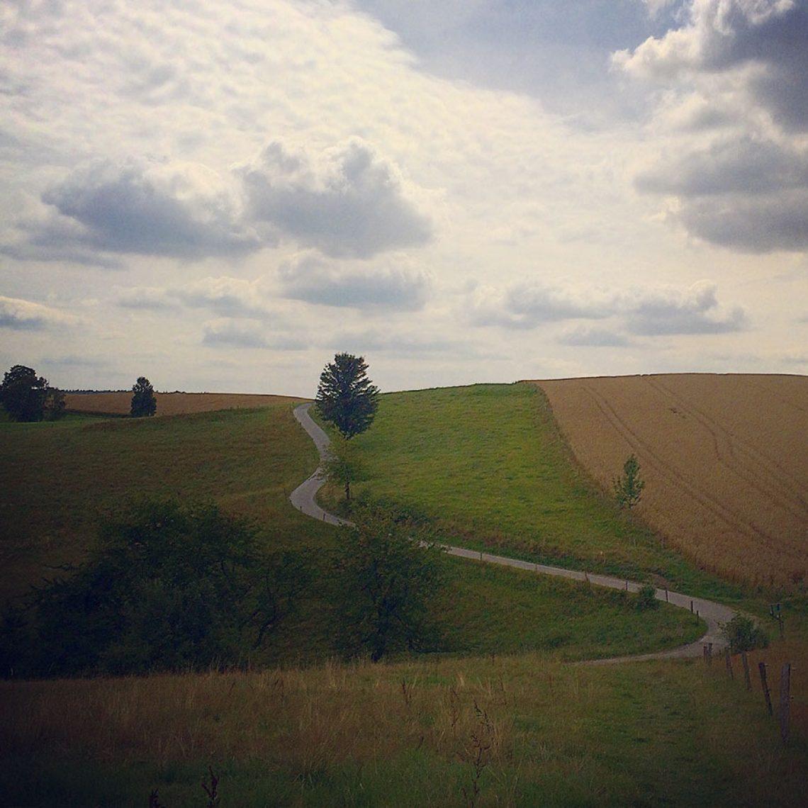 Schon wieder im deutschen Teil des Lausitzer Gebirges kurz vor der Grenze zum tschechischen Teil.